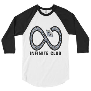 INFINITE DIAMOND 3/4 SLEEVE RAGLAN SHIRT