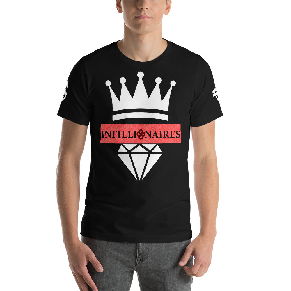 INFILLIONAIRES LIMITED EDITION Short-Sleeve Unisex T-Shirt