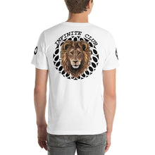 INFINITE LION PINK BLACK DESIGNS SHORT-SLEEVE UNISEX T-SHIRT
