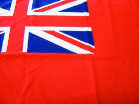 Red Ensign 1 1/4 Yard (115x60cm) Printed