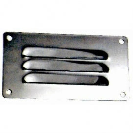 Stainless Steel Louvered Vent 127x66mm