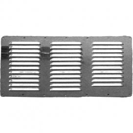 Stainless Steel Louvered Vent 360x185mm