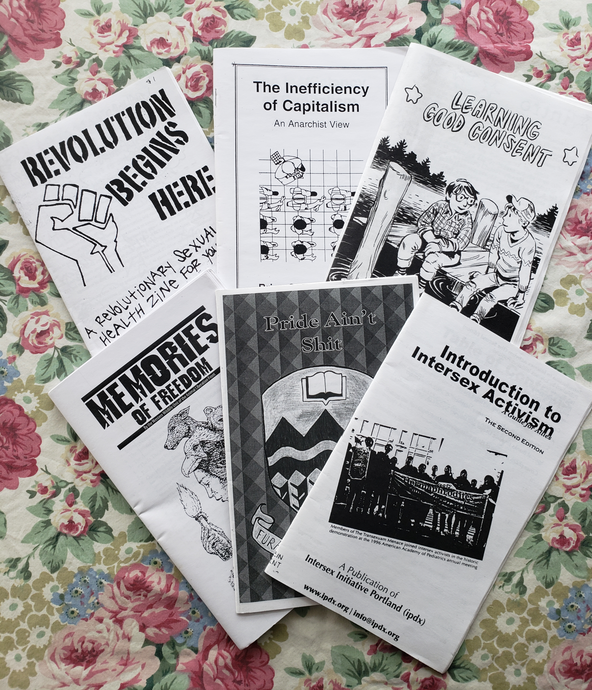 Political Zines & PerZines (Surprise!)
