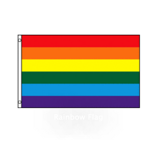 Rainbow Pride Flag - Large, 3x5 ft