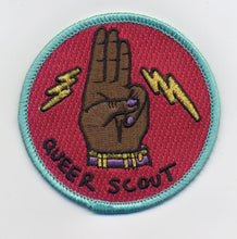 Load image into Gallery viewer, Queer Scout Patch