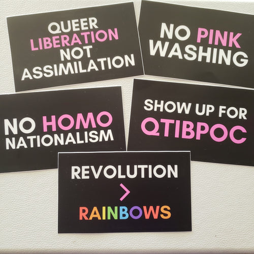 Rad Pride Stickers