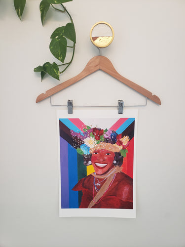 Marsha P. Johnson Art Print