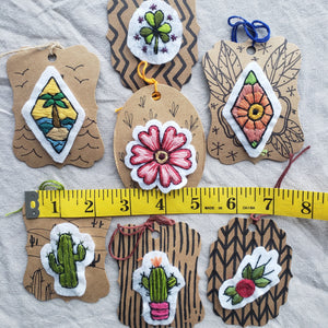 Embroidered Patches - Plants & Flowers