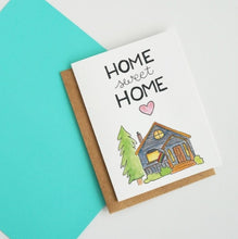 Load image into Gallery viewer, Home Sweet Home Greeting Card