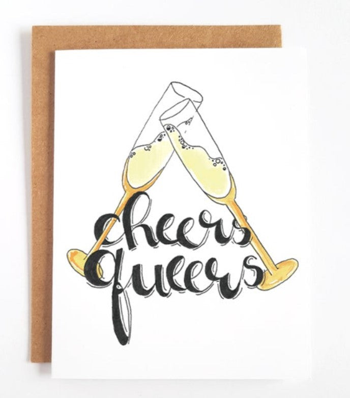Cheers Queers Greeting Card