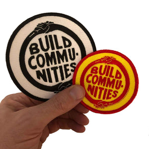 Build Communities Embroidered Patch