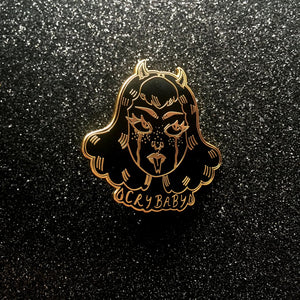 Cry Baby Enamel Pin