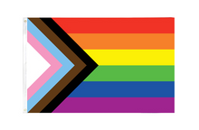 Load image into Gallery viewer, Progress Pride Flag (Large, 3x5 ft)