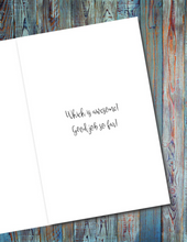 Load image into Gallery viewer, The World Who You Were Made To Be - Unicorn Greeting Card