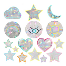 Load image into Gallery viewer, Feel Good Suncatcher Set | Rainbow Decals