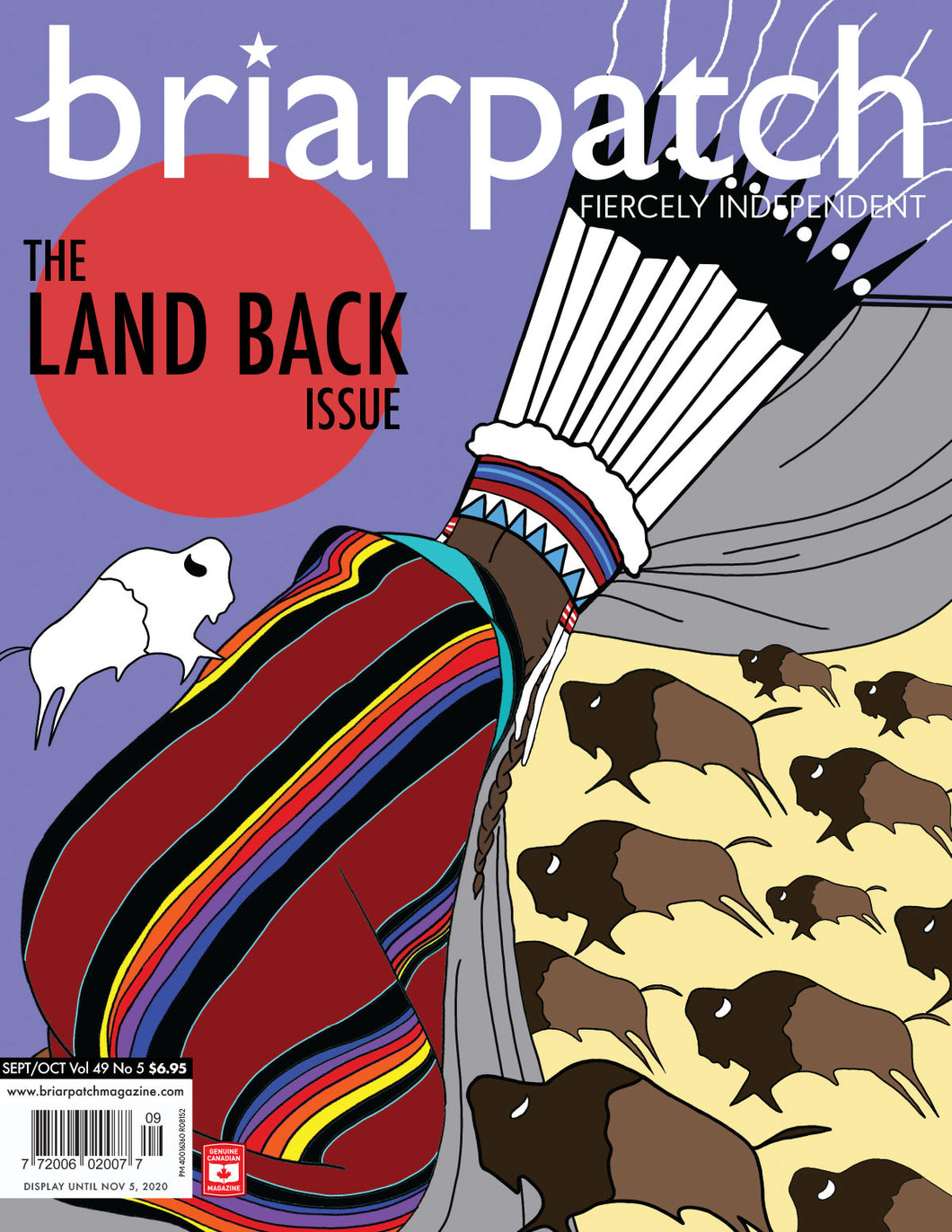 Briarpatch Magazine: The Land Back Issue