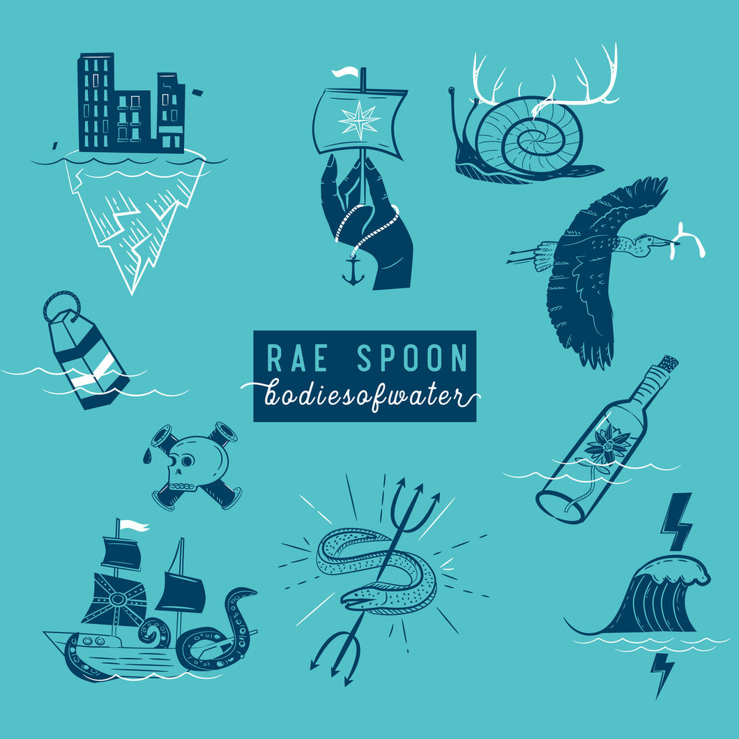 Bodies of Water by Rae Spoon (CD)