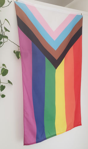 Progress Pride Flag (Large, 3x5 ft)