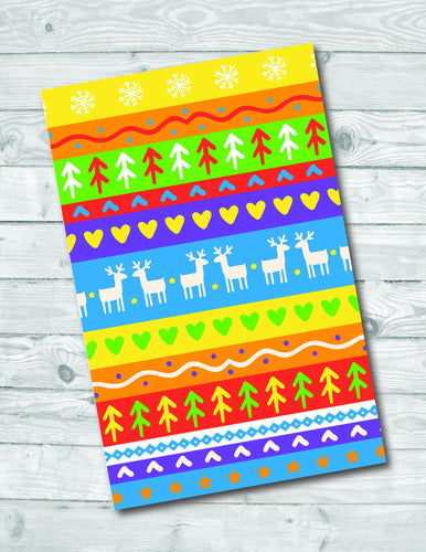 Cheerful & Gay Christmas Sweater Holiday Card