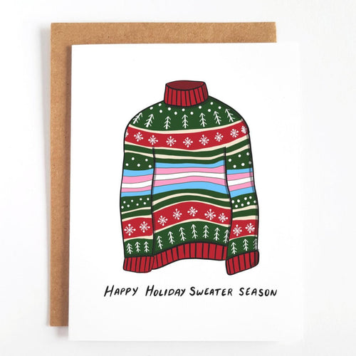 Trans Sweater Holiday Card