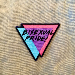 Bisexual Pride Embroidered Patch