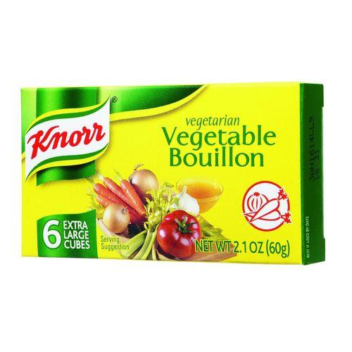 Knorr Bouillon Cubes - Vegetable - Extra Large - 2.13 oz - Case of 24