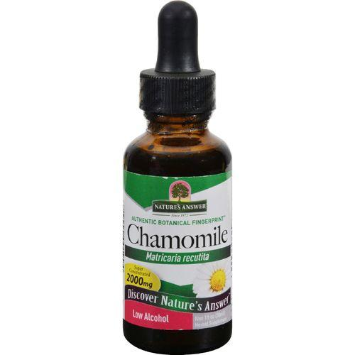Nature's Answer Chamomile Flower - 1 fl oz