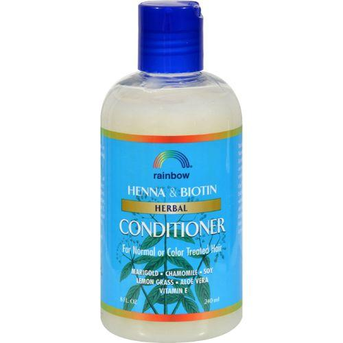 Rainbow Research Herbal Conditioner Henna and Biotin - 8 fl oz