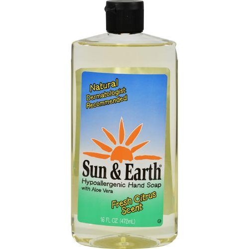 Sun and Earth Natural Liquid Hand Soap - 16 fl oz