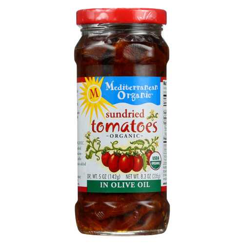 Mediterranean Organic Organic Tomatoes - Sundried In Olive Oil - 8.3 oz