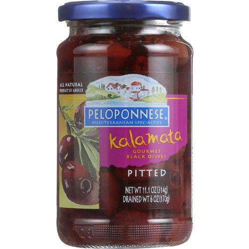 Peloponese Olives - Kalamata - Pitted - 6 oz - 1 each