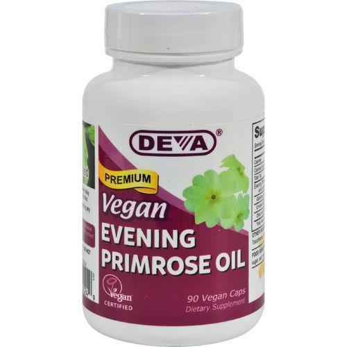 Deva Vegan Evening Primrose Oil - 90 Vcaps
