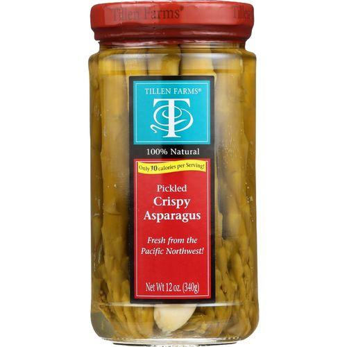 Tillen Farms Asparagus - Pickled - Crispy - 12 oz - case of 6