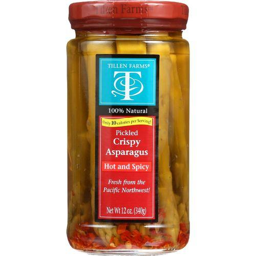 Tillen Farms Asparagus - Pickled - Hot and Spicy Crispy - 12 oz - case of 6