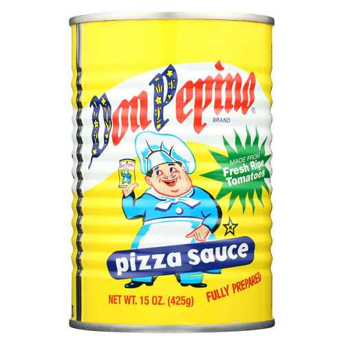 Don Pepino Fully Prepared Pizza Sauce - Case of 12 - 15 oz.