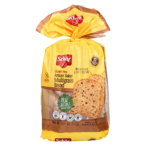 Schar Artisan Baker Bread - Multigrain - Case of 6 - 14.1 oz.