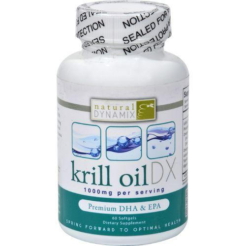 Natural Dynamix Krill Oil DX - 60 Softgels