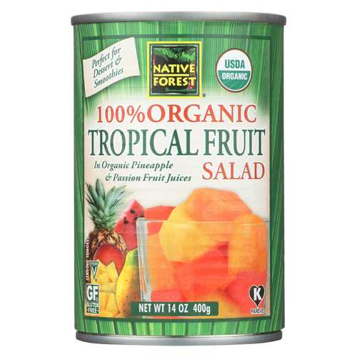 Native Forest Tropical Fruit Salad - Case of 6 - 14 oz.