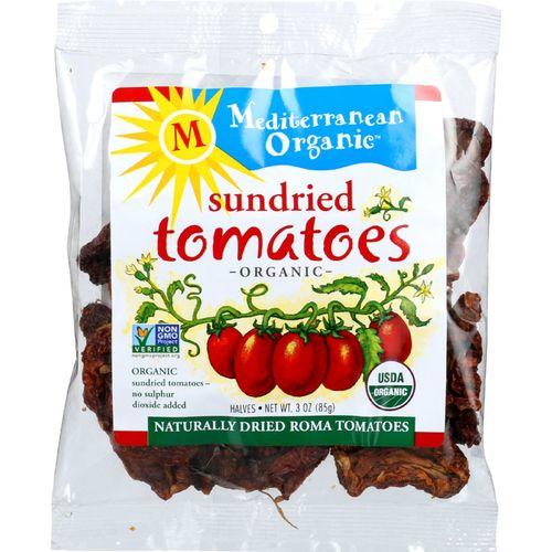 Mediterranean Organic Tomato - Organic - Sundried - in Bag - 3 oz - case of 12