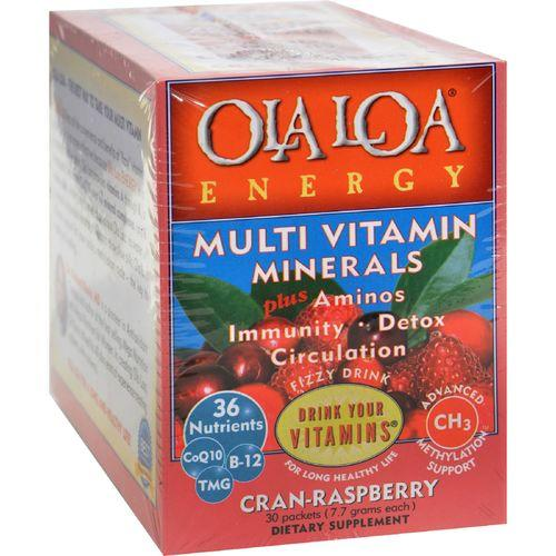 Ola Loa Energy Cran-Raspberry - 30 Packets