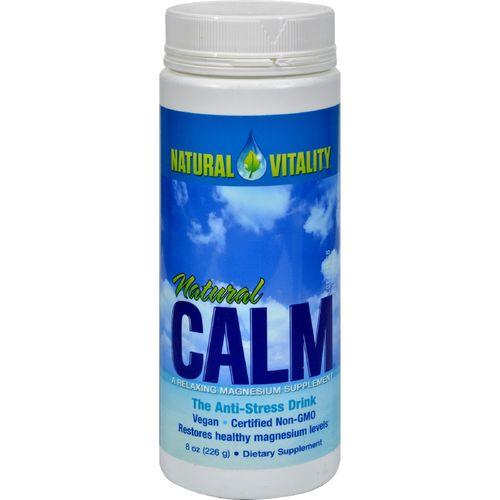 Natural Vitality Natural Magnesium Calm Original - 8 oz