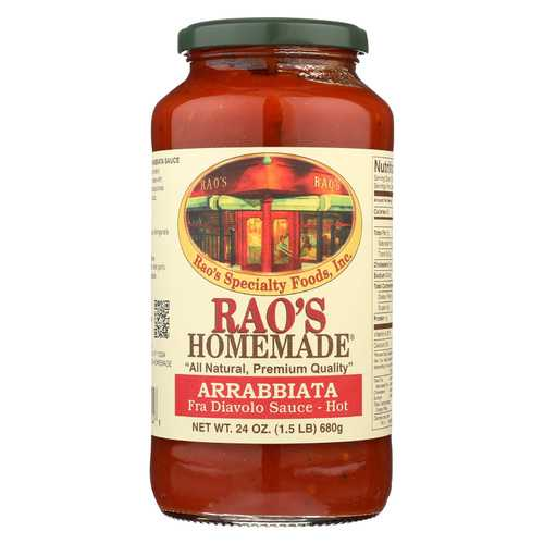 Rao's Specialty Food Homemade Sauce - Arrabbiata - 24 oz.