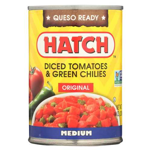 Hatch Chili Diced Tomatoes & Green Chiles - Case of 12 - 10 oz