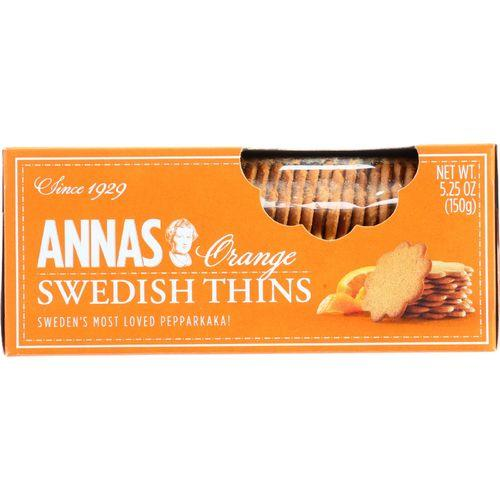 Annas Pepparkakor - Original - Orange Thins - 5.25 oz - case of 12