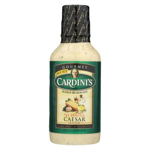 Cardini's Caesar Salad Dressing - Case of 6 - 20 fl oz