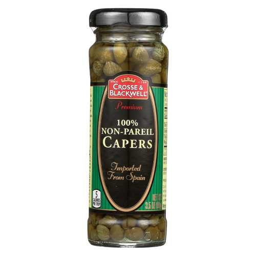 Crosse and Blackwell Capers - Case of 12 - 3.5 oz.