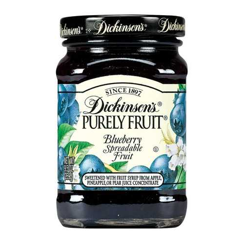 Dickinson Blueberry Preserves - Case of 6 - 9.5 oz