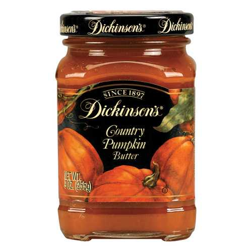 Dickinson Pumpkin Butter - Case of 6 - 9 oz