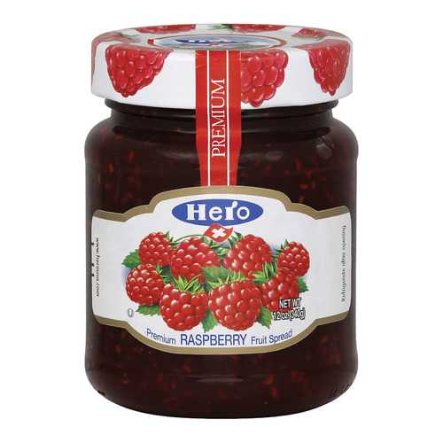 Hero Premium Fruit Spreads - Raspberry - Case of 8 - 12 oz.