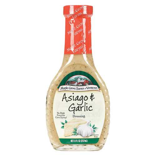 Maple Grove Farms Asiago and Garlic Dressing - 8 Fl oz.